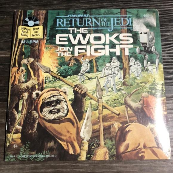 Vintage Star Wars Ewoks Read Along Record Sealed